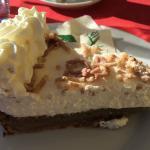 Torta di castagne e panna freschissima