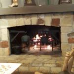 Fireplace at Cracker Barrel