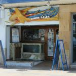 Entrada al Restaurante por el paseo marítimo de Vinaròs