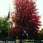 The colors of fall at The Mill Creek Hotel in downtown Lake Geneva