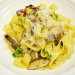 Fettuccine with Market Exotic Mushrooms and Truffle Butter