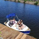 Our fun little electric boats
