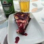Cheesecake with lager!!