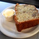 Banana Bread side