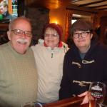 Three of us in pub