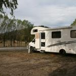Our motorhome in grounds