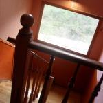 Escaleras internas y vista.