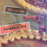 Placemat.  The Pumpkin and Pecan pie pictures were mouthwatering! Denny's Yemassee, SC