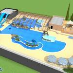 Nouveau parc aquatique / New water parc