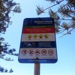 Newport Beach sign
