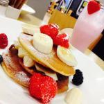 My yummy pancake stack :-))