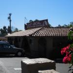 View of restaurant from the street