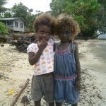 2 local children