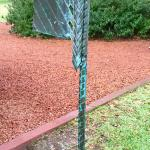 Copper rain catcher