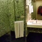 Good size bathroom
