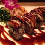 Sushi with crab & eel, sushi at it's best!