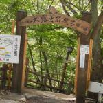 温泉入口の門