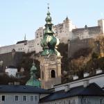 Salzburg, eine knappe Bahnstunde entfernt