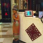The decoration at Hotel