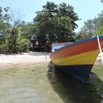 il bungalow visto dal mare
