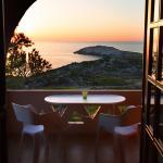 μπαλκόνι με θέα την θάλασσα