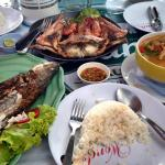 grilled fish and grilled seafood