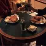 Potato Pancakes and Wine