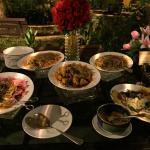 BBQ buffet dinner
