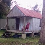 Preserved slave house in back of Artisan Center