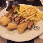 Für den kleinen Hunger: Kleine Souflaki-Calamari