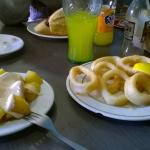 Las Patatas bravas y los calamares