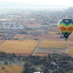 Balloon over Napa Valley II