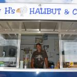 The Big H Himself…..thanks for an amazing lunch Harold