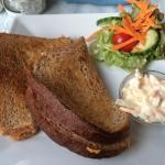 Ham toasted sandwich