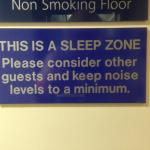 Quiet Zone clearly marked!