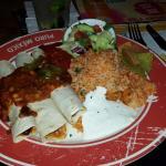 Enchiladas Classic,  war sehr gut.  Nur die Gurcamole hat gefehlt