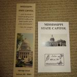 Souvenir bookmark and collectible stamp