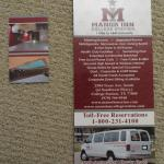 Brochure and business card