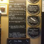 the specials board, so many options!