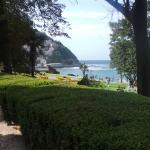 Vista desde los Jardines del Palacio Miramar