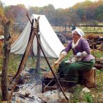 Reenactments of the encampment take place on certain weekends.
