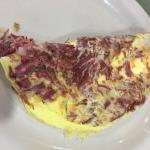 Real omelette from a different restaurant
