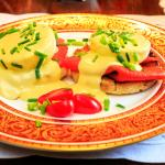 Breakfast Salmon Benedict
