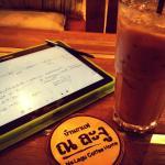 Enjoy work with ice espresso