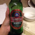 Hot and sour soup, duck and a rice dish I can't remember. And oh, this beer tastes nice, sweet a