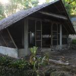 one of the nipa houses, now a storage