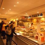 Hema buffet self-service restaurant.