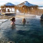 Горнолыжный тур «Восточная зима»  купание в горячих источниках