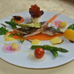 Filet de Maquereau Grillé et Légumes de Saison