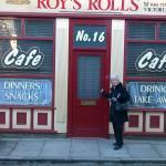 Outside Roy's Rolls
